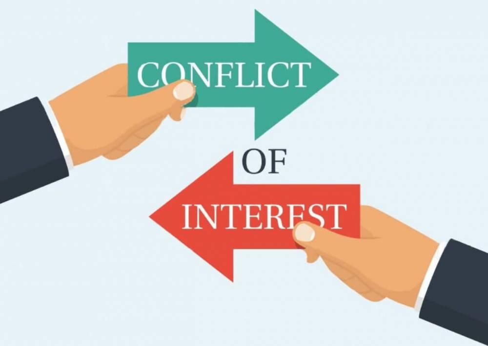 تضاد منافع یا conflict of interests در مقاله چیست؟